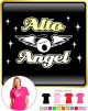 Vocalist Singing Alto Angel - LADY FIT T SHIRT