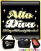 Vocalist Singing Alto Diva Right Notes - TRIO SHEET MUSIC & ACCESSORIES BAG