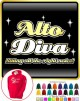 Vocalist Singing Alto Diva Right Notes - HOODY