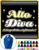Vocalist Singing Alto Diva Right Notes - ZIP HOODY