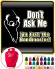 Bandmaster Dont Ask Me - HOODY