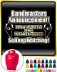 Bandmaster Rehersals Will End - HOODY