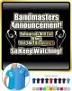 Bandmaster Rehersals Will End - POLO SHIRT