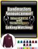 Bandmaster Rehersals Will End - ZIP SWEATSHIRT