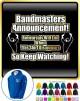 Bandmaster Rehersals Will End - ZIP HOODY