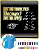 Bandmaster Theory Of Relativity p=p - POLO SHIRT