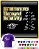 Bandmaster Theory Of Relativity p=p - CLASSIC T SHIRT