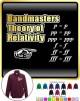 Bandmaster Theory Of Relativity p=p - ZIP SWEATSHIRT