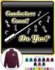 Conductor Count Do You - ZIP SWEATSHIRT