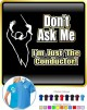 Conductor Dont Ask Me - POLO SHIRT