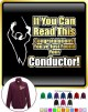 Conductor You Have Found Your - ZIP SWEATSHIRT