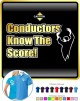 Conductor Know The Score - POLO SHIRT