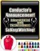 Conductor Rehersals Will End - HOODY