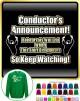Conductor Rehersals Will End - SWEATSHIRT