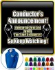 Conductor Rehersals Will End - ZIP HOODY