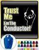 Conductor Trust Me - ZIP HOODY