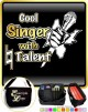 Vocalist Singing Cool Singer Natural Talent - TRIO SHEET MUSIC & ACCESSORIES BAG