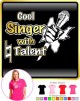 Vocalist Singing Cool Singer Natural Talent - LADY FIT T SHIRT