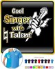 Vocalist Singing Cool Singer Natural Talent - POLO SHIRT