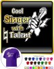 Vocalist Singing Cool Singer Natural Talent - CLASSIC T SHIRT