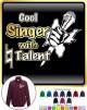 Vocalist Singing Cool Singer Natural Talent - ZIP SWEATSHIRT