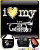 Cornet I Love My - TRIO SHEET MUSIC & ACCESSORIES BAG