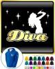 Vocalist Singing Diva Lady Micro - ZIP HOODY