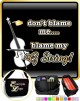 Double Bass Blame My G String - TRIO SHEET MUSIC & ACCESSORIES BAG