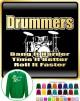 Drum Kit Drummers Bang Harder - SWEATSHIRT