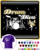 Drum Kit Diva Fairee - CLASSIC T SHIRT