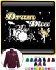 Drum Kit Diva Fairee - ZIP SWEATSHIRT