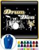 Drum Kit Diva Fairee - ZIP HOODY