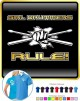 Drum Fist Sticks Girl Drummers Rule 2 - POLO SHIRT