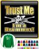 Drum Fist Sticks Trust Me - SWEATSHIRT