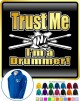 Drum Fist Sticks Trust Me - ZIP HOODY