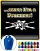 Drum Fist Sticks Cause - ZIP HOODY
