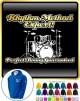 Drum Kit Rhythm Method Expert - ZIP HOODY