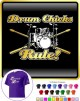 Drum Kit Sticks Drum Chicks Rule - CLASSIC T SHIRT