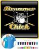 Drum Kit Sticks Chick - POLO SHIRT