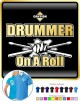 Drum Fist Sticks Drummer On Roll - POLO SHIRT