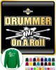 Drum Fist Sticks Drummer On Roll - SWEATSHIRT