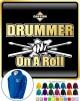 Drum Fist Sticks Drummer On Roll - ZIP HOODY