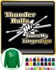 Drum Fist Sticks Thunder Rolls - SWEATSHIRT