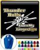 Drum Fist Sticks Thunder Rolls - ZIP HOODY