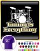 Drum Kit Timing Everything - CLASSIC T SHIRT