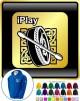Bodhran I Play - ZIP HOODY