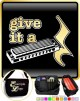 Harmonica Give It A Rest - TRIO SHEET MUSIC & ACCESSORIES BAG