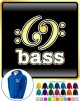 Music Notation 69 Bass - ZIP HOODY