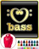 Music Notation Love Bass - HOODY