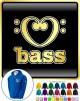 Music Notation Love Bass - ZIP HOODY